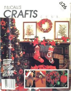 Night Before Christmas wallhanging cat QUILT PATTERN Joanne Beretta ornament