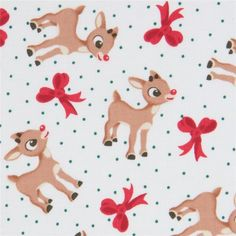 100/% Cotton Fabric Christmas Poinsettia Floating Flowers Floral 135cm Wide