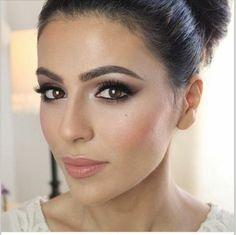 maquillage tendance pour les yeux marrons