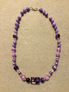 If you have a passion for purple, then the assortment of lilac and lavender beads featured in the Camilla Collection was uniquely designed for you!!