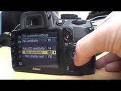 Nikon D3100 Menu Functions Part 1