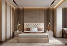 Modern bedroom design - 4 Principles for Creating the Perfect Bedroom Bedroom Furniture Design, Bed Furniture Design, Interior Design Bedroom, Bedroom Bed Design, Bed Design, Ceiling Design Bedroom, Luxury Bedroom Master, Modern Bedroom, Luxurious Bedrooms