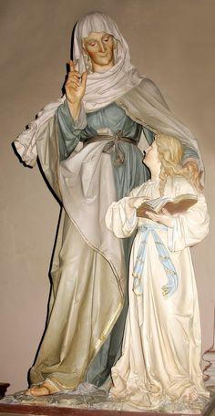 Santa Ana, mãe da Virgem Maria.