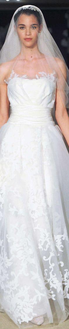 Carolina Herrera Collection-Spring 2015 Bridal