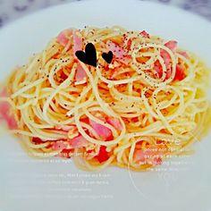 today's lunch - 10件のもぐもぐ - #カルボナーラ by smrwmn