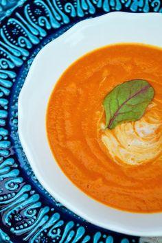 Creamy Butternut Squash and Tomato Soup Recipe on Yummly. @yummly #recipe