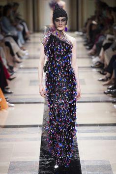 Armani Privé Fall 2017 Couture Fashion Show - Milena Litvinovskaya