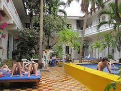 Medialuna Hostel, Cartagena Hostel, South America, Cartagena