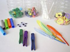 Want a fun, easy way to occupy your preschooler? Try experimenting with shakers. These are made with everyday items -- kids will have a blast making noise and exploring sound with them! Music Week, Preschool Music, Having A Blast, Everyday Items, Art Projects, Exploring, Peace, Homemade, Canning