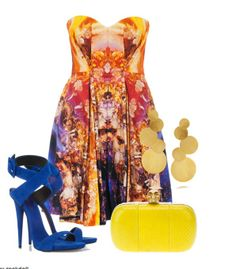 Wedding guest outfit...I vote no but I do love the colors!
