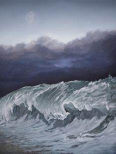 """""""Passage"""" Joel Rea oil on canvas Size: 92x122cm"""