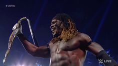 R-Truth wins United States Championship, makes first title defense all in the span of 15 minutes Jeff Hardy, Dean Ambrose, John Cena, Black Wrestlers, R Truth, Nia Jax, Wwe Champions, Wrestling News, Royal Rumble