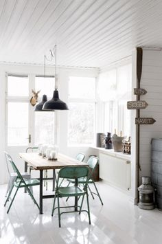 Dining, kitchen table, chairs