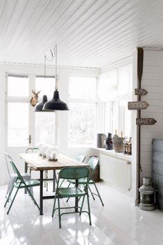 amazing Scandinavian Dining Room Design Ideas Brick Walls – Home Interior and Design Stil Inspiration, Dining Room Inspiration, Interior Inspiration, Creative Inspiration, Interior Ideas, Design Room, Dining Room Design, Home Design, Dining Area