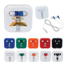 #2799 Ear Buds In Compact Case