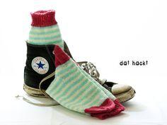 Socken 37-38 *Prilla* von dat hackt auf DaWanda.com