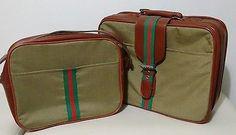 Small Suitcase & Bag Set Vintage / Retro Weekend
