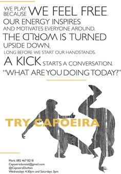New Durban Capoeira flyer concept