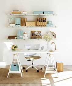 Ideas Home Office Layout Diy Desk For 2019 Home Office Space, Home Office Design, Home Office Decor, Home Decor, Rustic Home Offices, Ideas Hogar, Workspace Inspiration, Creative Home, Office Interiors