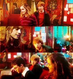 """Top 25 Ron/Hermione movie moments ↦ 12. 'Hermione, you are honestly the most wonderful person I've ever met. ' """" Ron: I'm not asking you to write all of it for…"""