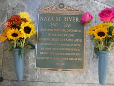 Famous Graves, Never Leave You, Do Not Be Afraid, Be Strong And Courageous, Naya Rivera, Glee, Dancer, Fox, Dancers