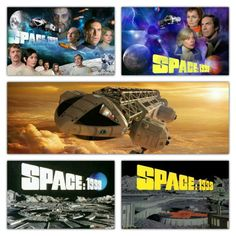 Photo collage of Space 1999! Happy 40th Anniversary to the show and Moonbase Alpha!