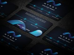 Game Publishing Company Business Card (Guarenteed) by sashadesigns