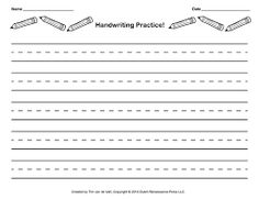 cursive handwriting paper
