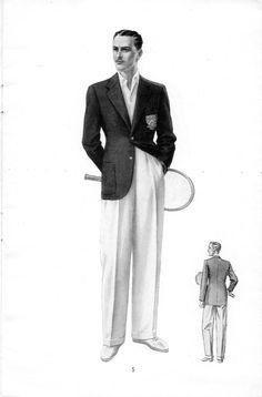 Mens Fashion – Designer Fashion Tips 1940s Mens Fashion, Best Mens Fashion, Mens Fashion Suits, Mens Suits, Vintage Fashion, Fashion Illustration Vintage, Fashion Illustrations, Men Style Tips, Vintage Men