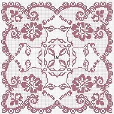 Romantic tablecloth with flowers