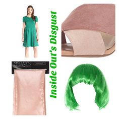 Inside Out's Disgust Work-Appropriate costume Work Appropriate Halloween Costumes, Inside Out Emotions, Fashion, Moda, Fashion Styles, Fashion Illustrations