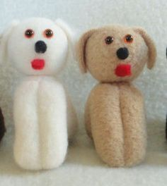 Dog Dolls  Stocking Stuffers  Toy Puppies Hounds by JoellesDolls