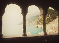 From an abandoned Faerie palace, one can see this view. Bheril thought (and was right) that Oliver would like it.