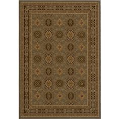 @Overstock - This rug from Westminster features a traditional design with power-loomed construction of soft polypropylene. This rug showcases hues of slate green, red and beige.http://www.overstock.com/Home-Garden/Westminster-Power-loomed-Tabriz-Panel-Slate-Rug-910-x136/6014017/product.html?CID=214117 $529.99