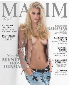 "194 Likes, 2 Comments - @maximfrance on Instagram: ""A good cover is the result of #teamwork #connection #positivity #magic #denmark #model @ninaagdal…"""