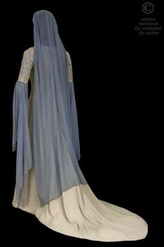 Costume designed by Lucien Jusseaume and Eugene Ronsin for Véronique Dietschy in the Paris Opera's 1952 production of Claude Debussy's Pelléas et Mélisande From the Centre National du Costume de Scène