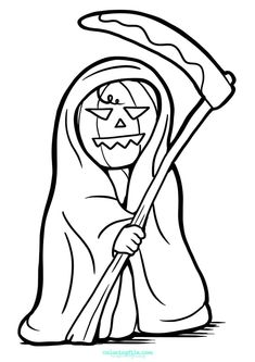 Halloween death pumpkin coloring pages from Halloween Coloring Pages Printable. Halloween is a celebration which can be found in a number of countries on October which dedicated to commemorate people who have died, including s. Pumpkin Coloring Pages, Coloring Books, Lightning Bug Crafts, Halloween Coloring Pages Printable, Pumpkin Colors, October 31, Dog Toys, Smiley, Countries