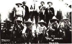 Yaqui indians of Mexico