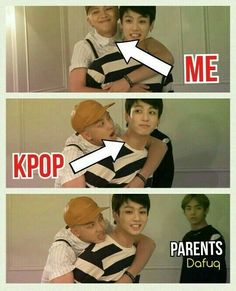 I almost find the connection between them sweet. Rap Monster finds Jungkook multitalented and a professional at everything, while we have Jungkook joining BigHit because of Rap Monster. The closeness of the BTS members is so sweet! Memes Bts Espa帽ol, Bts Memes Hilarious, Jungkook Funny, Funny Videos, Btob, Rap Monster, Bts Boys, Bts Bangtan Boy, K Pop