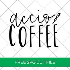 FREE Accio Coffee SVG Cut File to Make your Own Harry Potter Coffee Mug for Cricut and Silhouette Machines by Pineapple Paper Co. Harry Potter Decal, Harry Potter Free, Harry Potter Teachers, Cricut Tutorials, Cricut Ideas, Silhouette Machine, Cricut Vinyl, Papers Co, Silhouette Projects