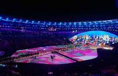 Olimpíadas Rio 2016: fotos e vídeos da abertura já estão circulando na internet
