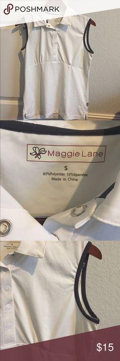 Maggie Lane Golf Sleeveless Shirt EUC- worn once Maggie Lane Tops