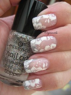 Nail art Bridal/ not for actual wedding but maybe for bachelorette party or rehearsal dinner