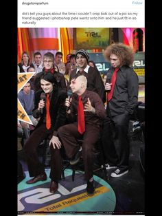 Why crop Bob out? He made MCR the way it was even if you don't like Matt or Bob try to respect them