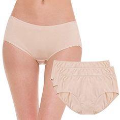 e57b71893ce Hesta Rael Women s Organic Cotton Period Menstrual Sanitary Protective Panties  Underwear   3Pack at Amazon Women s Clothing store