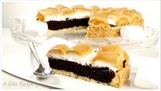Stückchen Brownie - Marshmallow - Kuchen