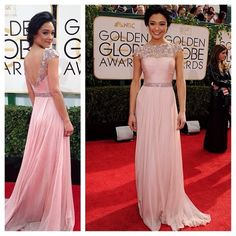 Rachel Smith Golden Globe Awards Gown 2014: HIT or MISS?