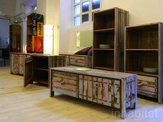mobili in legno recuperato da imbarcazioni #itesoricoloniali #arredamenti #loft #reggioemilia #legno #homestaging