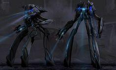 Falling Skies - Mech concept art by Ryan Church Concept Ships, Concept Art, Falling Skies, Alien Invasion, Transportation Design, The Martian, War Machine, Creature Design, Comic Art