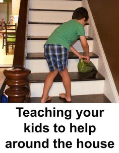 Teaching your children to clean-up and help around the house doesn't have to be…